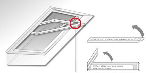 Fenetre de toit marque toiciel