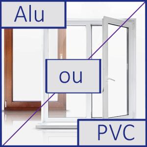 Fenetre aluminium ou pvc