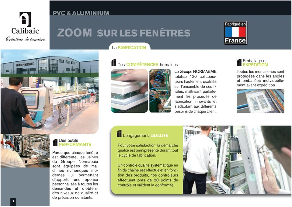Fenetre pvc normabaie