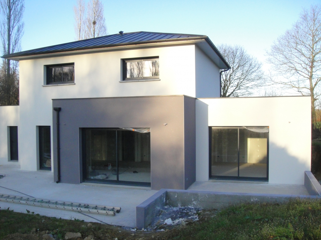 fenetre pvc gris anthracite pas cher id e de travaux et. Black Bedroom Furniture Sets. Home Design Ideas