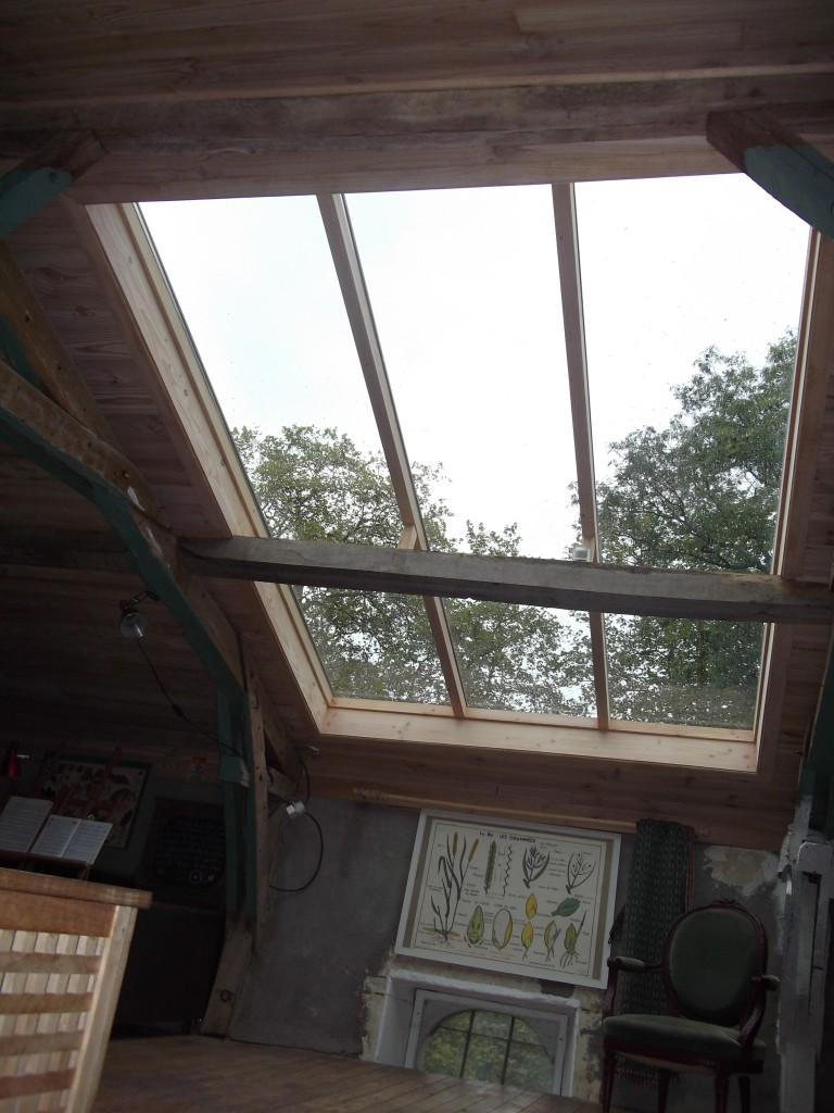 Fenetre de toit non ouvrante