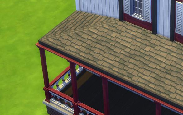 sims 4 fenetre de toit
