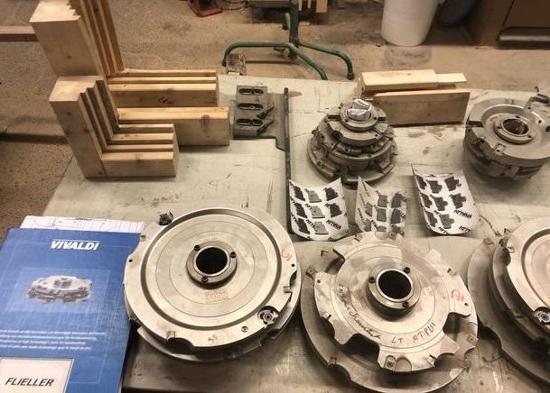 outillage pour fabrication fenetre bois
