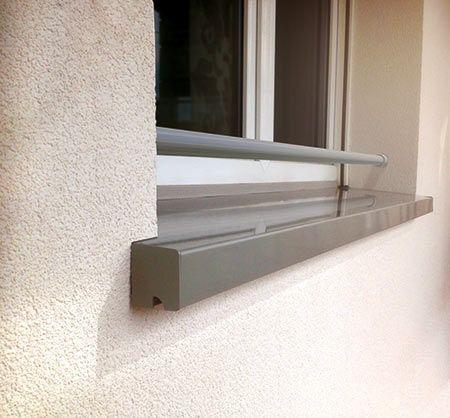 peindre appui de fenetre en beton