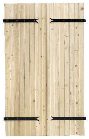 volet bois porte fenetre brico depot