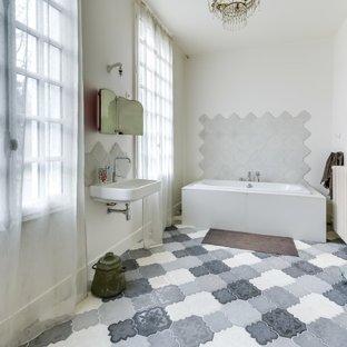 habillage de fenêtre salle de bain