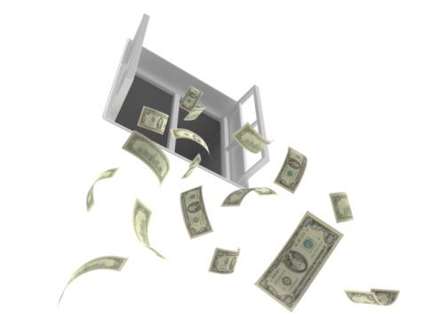 jeter l'argent par la fenetre