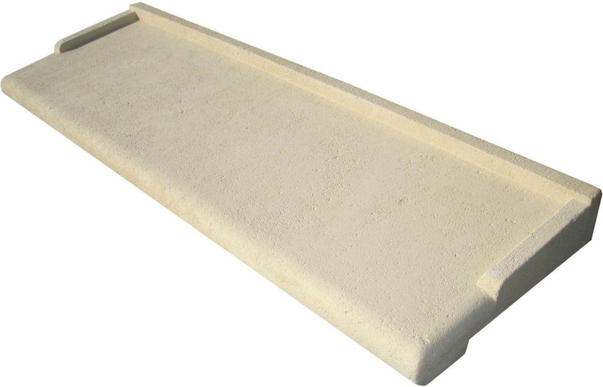 appui de fenetre pierre reconstituée