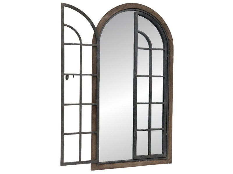 miroir style fenetre