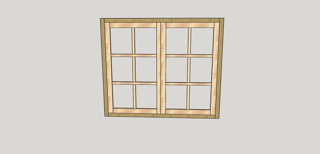 sketchup fenetre