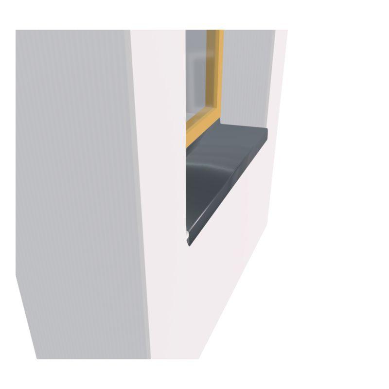 appui de fenetre en zinc