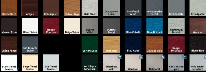 couleur fenetre