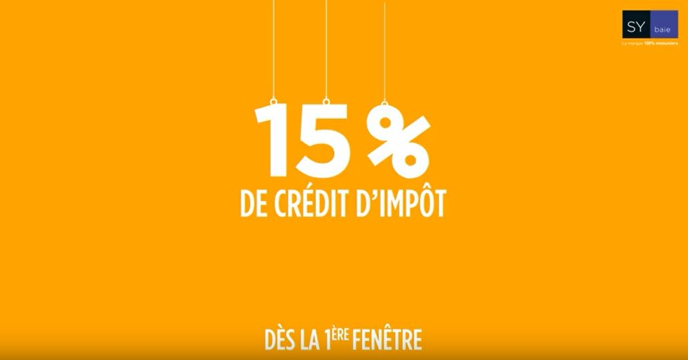 credit impot renovation fenetre