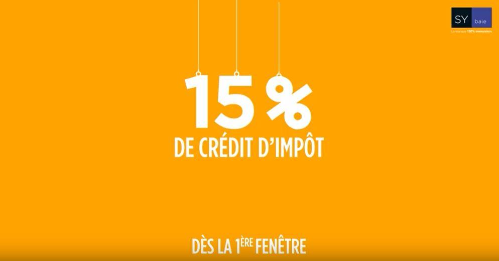 changement de fenetre credit impot
