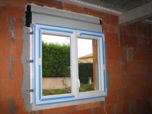 pose d une fenêtre