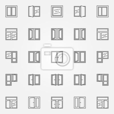 pictogramme fenetre