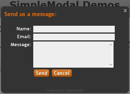 fenetre modale javascript