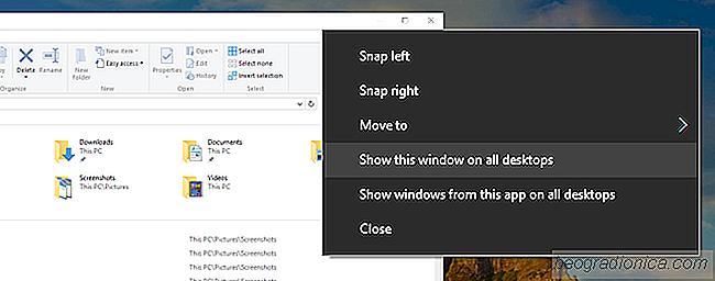 epingler fenetre windows 10