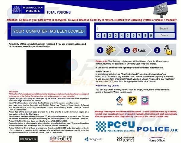 fenetre police nationale virus