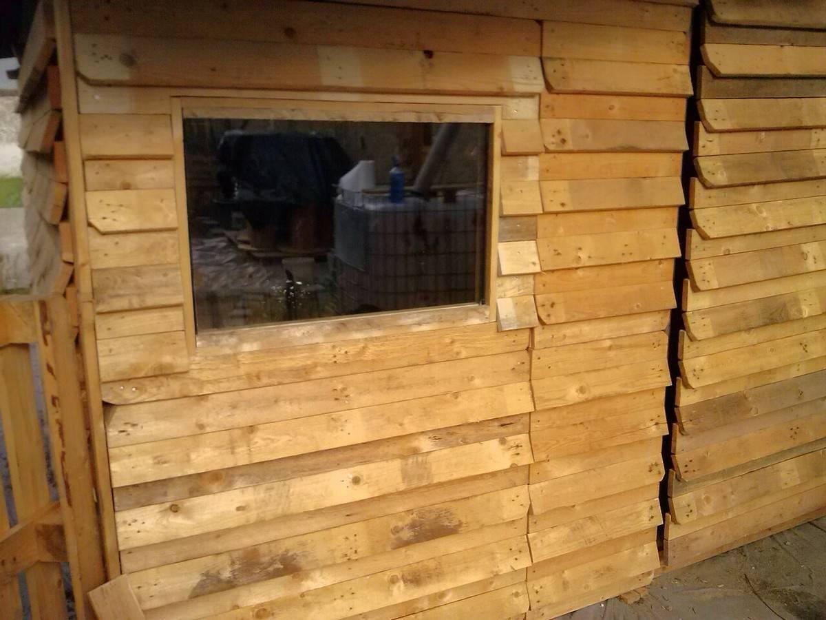 fenetre pour cabane bois