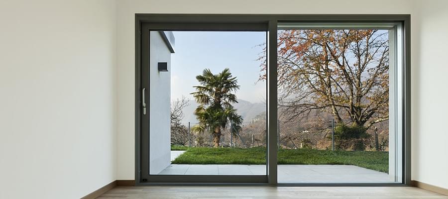 porte fenêtre à galandage