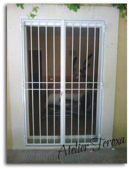 grille de protection pour porte fenetre