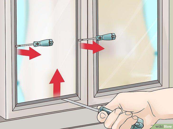comment ouvrir une fenetre fermée