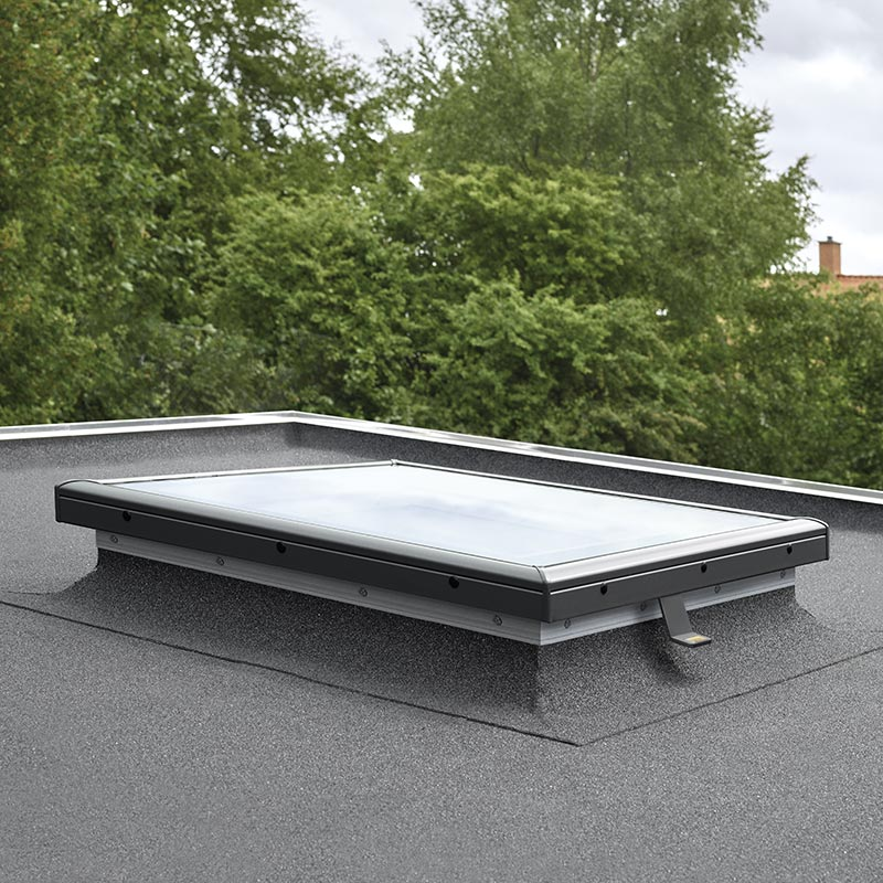 fenetre coupole pour toit plat