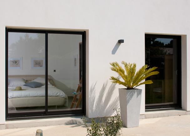 porte fenêtre coulissante 2 vantaux